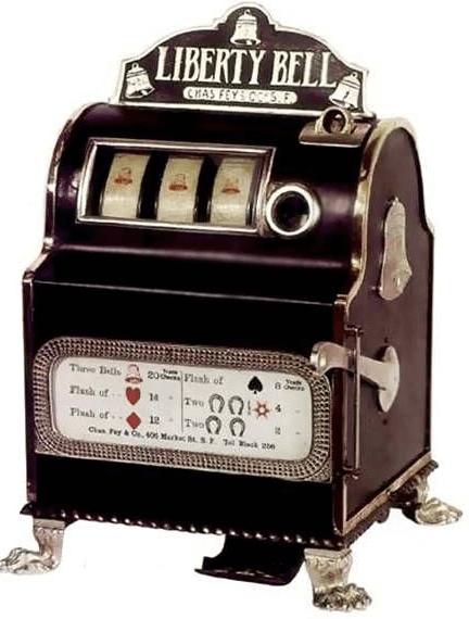 Liberty bell spelautomat
